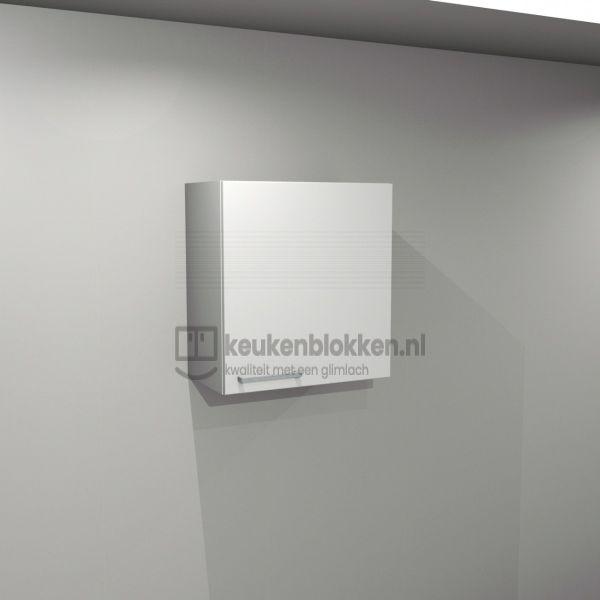 Bovenkast rechtsdraaiend 0.60 m breed - Alpine wit (op voorraad)