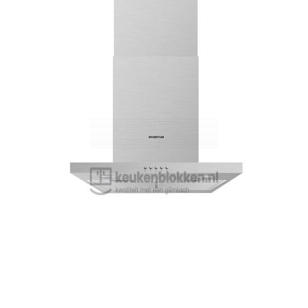 Keukenblok met apparatuur, inductiekookplaat, spoelbak midden, koelkast  3.00m breed - Carbon zwart